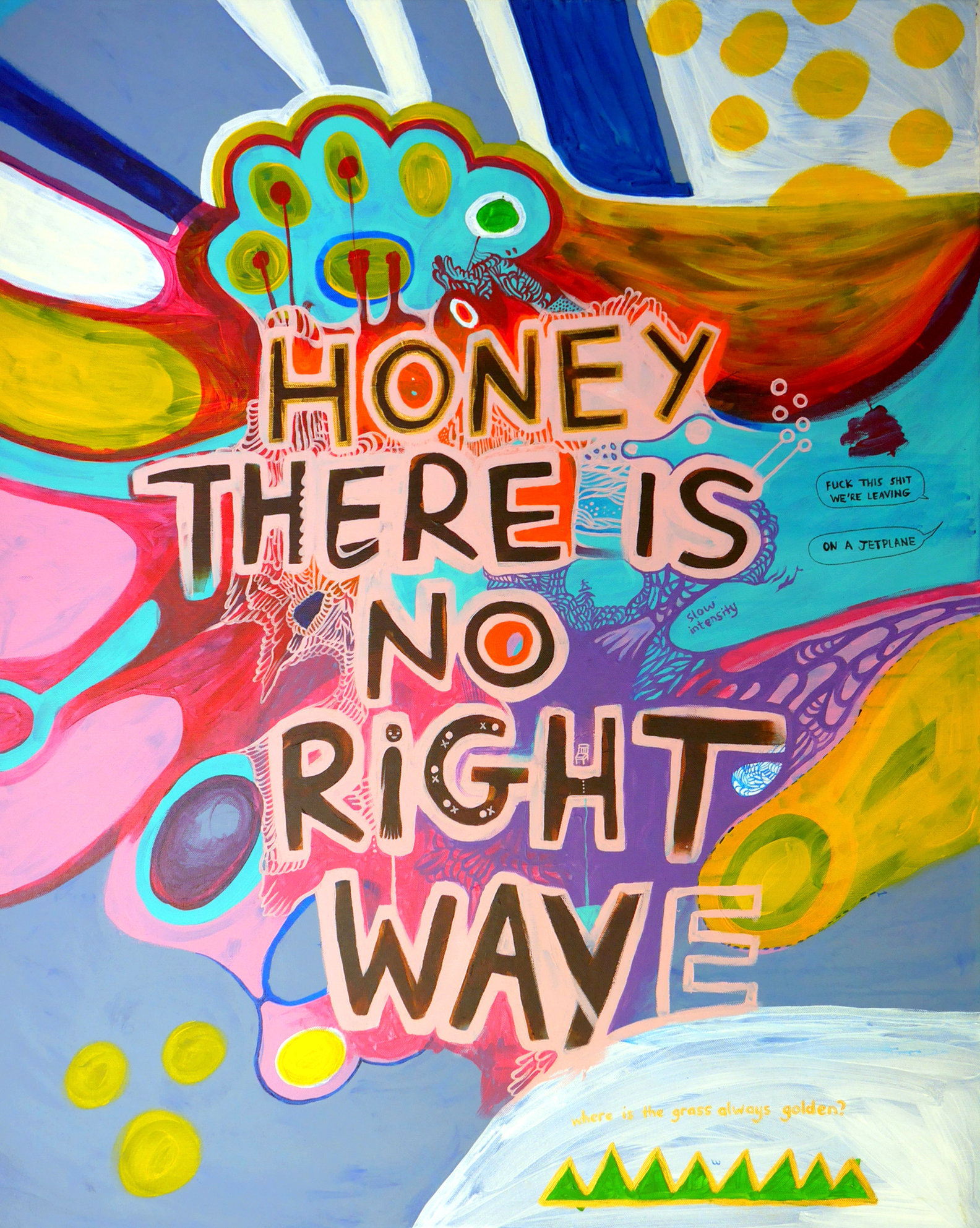 Honey, There is No Right Way (2016)
