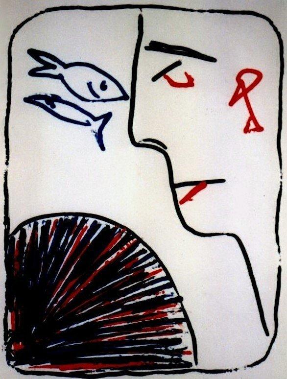 Femme a l'evantail (1984)