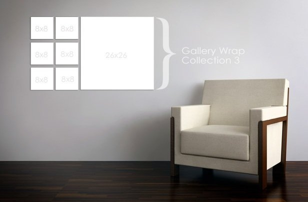 Gallery wrap collection 3
