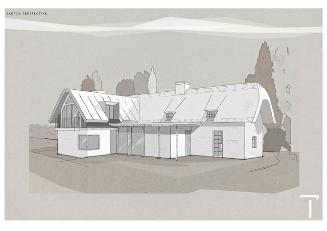 Proposed Extension of Thatched Cottage, Hampshire