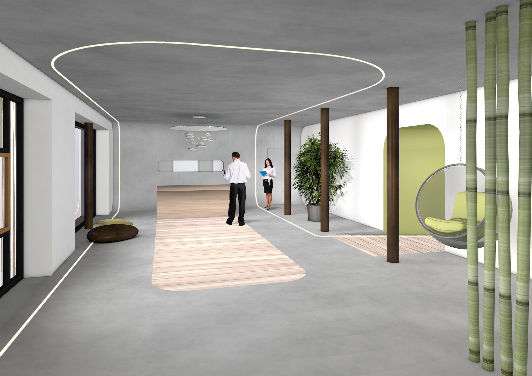 Boardinghotel Golden Ball | Dornach | Lobby Empfang