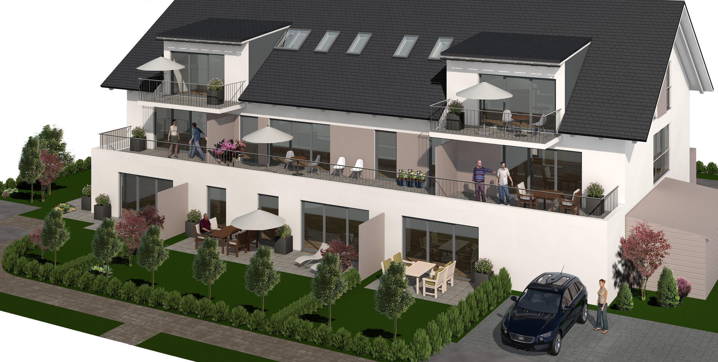 Mehrfamilienhäuser | Pfaffing