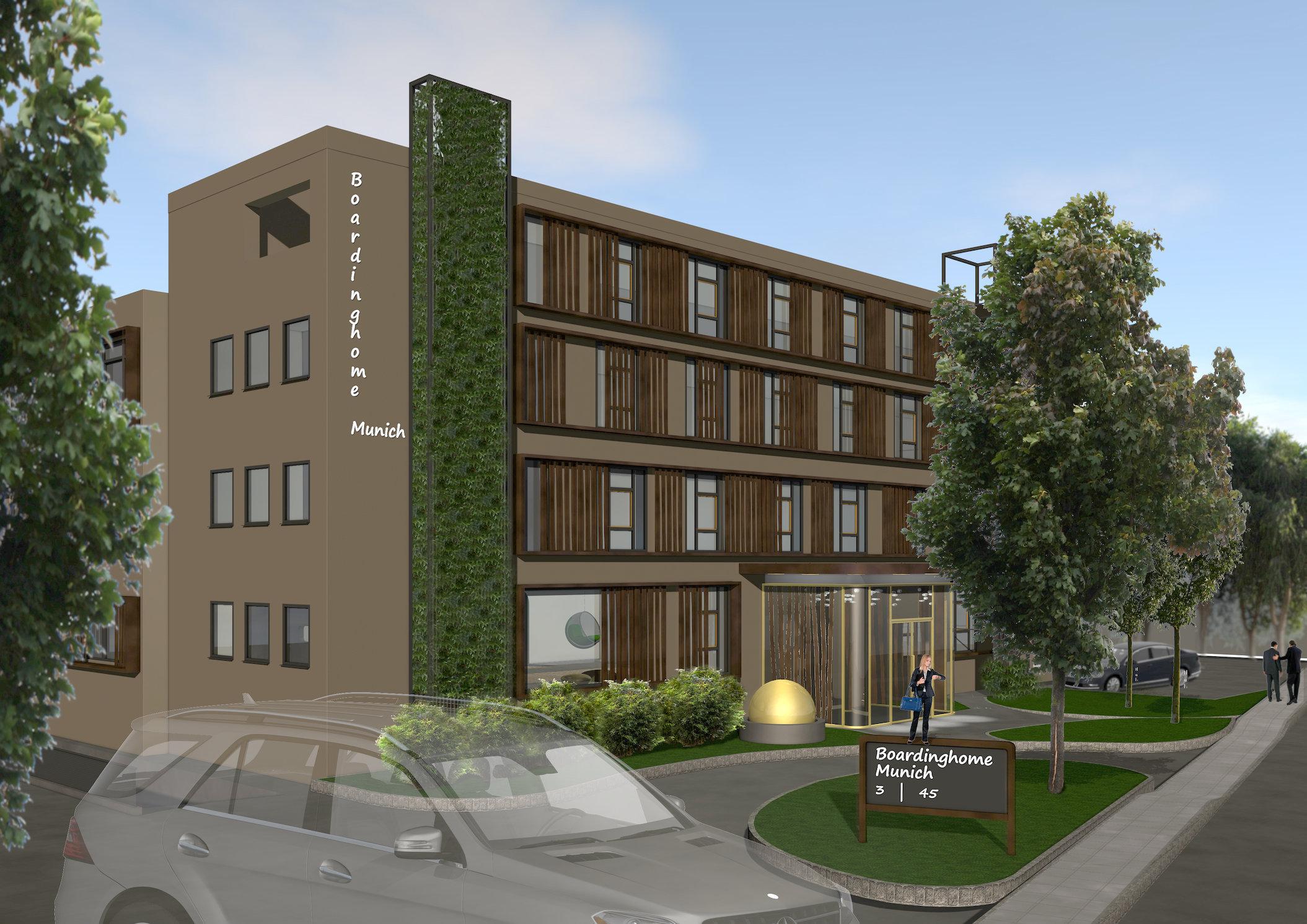 Boardinghotel Golden Ball | Dornach | Fassadenvariante