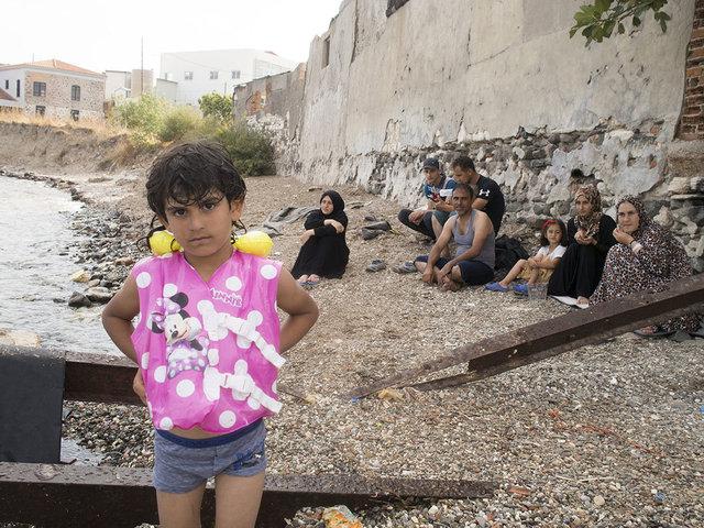 Lesbo_Lezioni di nuoto a bambini rifugiati_3