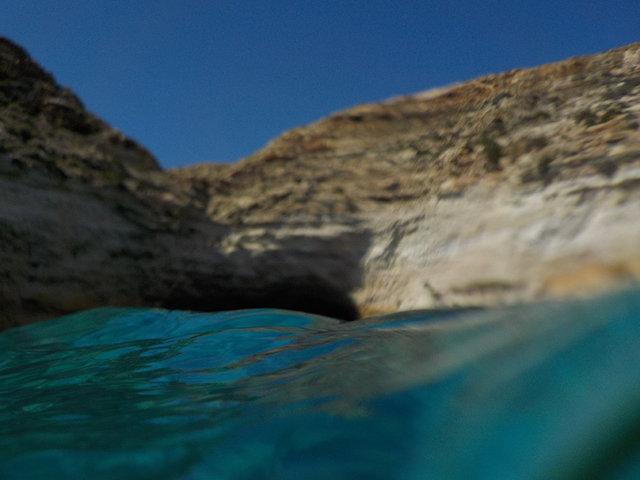 Lampedusa, la Grotta della Tabaccara
