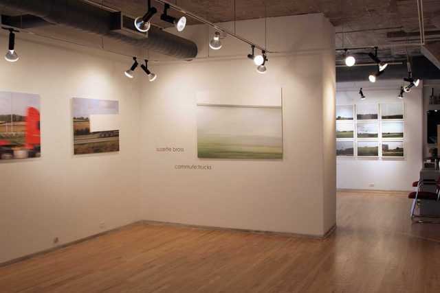 Commute: Trucks - Schneider Gallery, Chicago, 2007