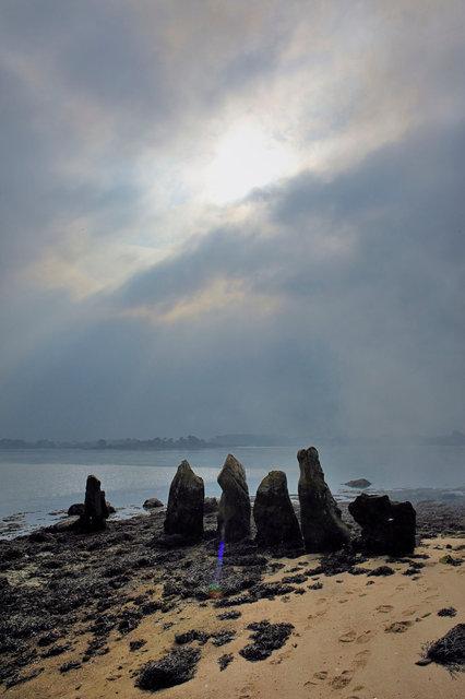 Cromlec'h d'Er Lannic, Golfe du Morbihan