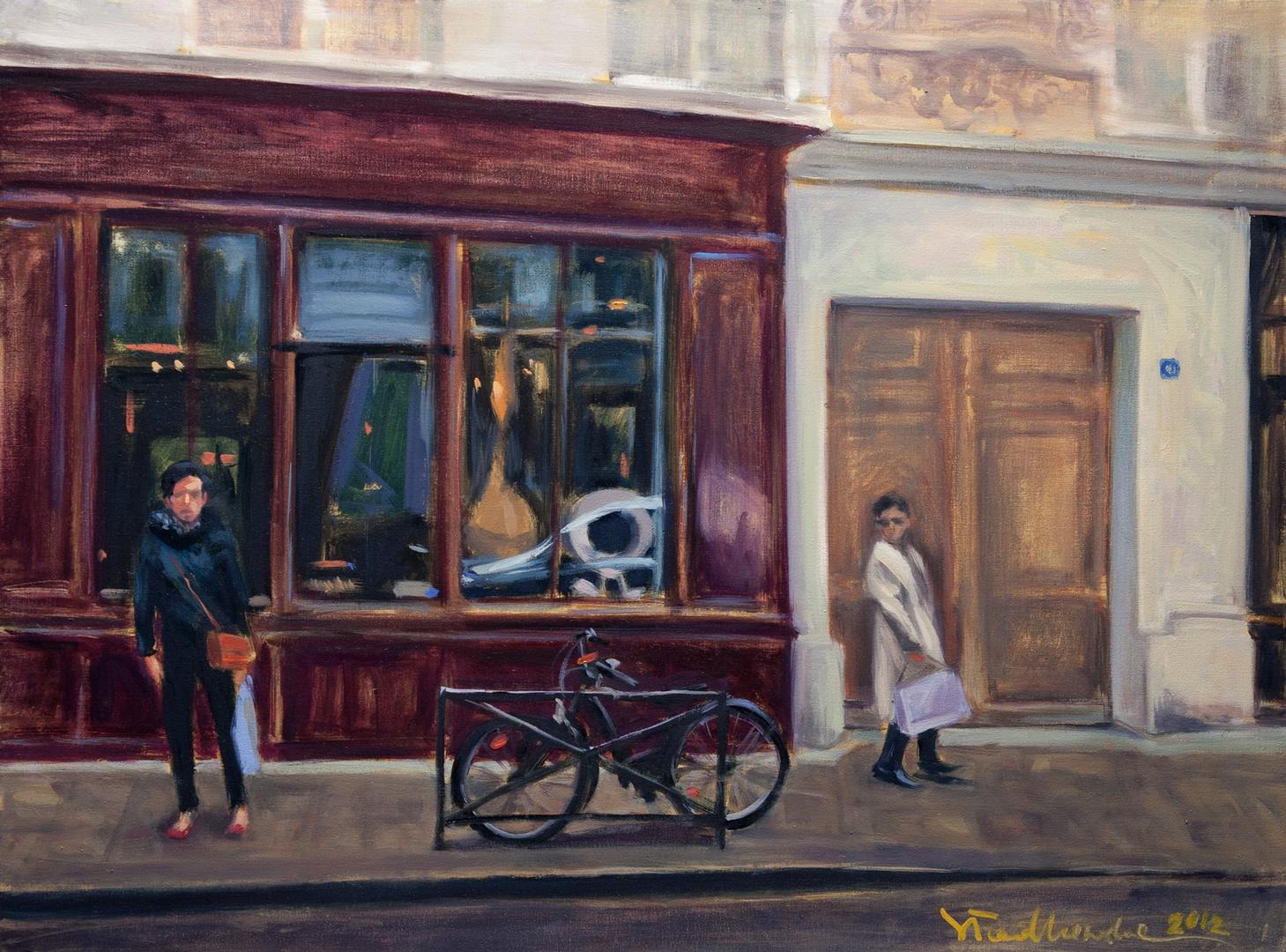 Street, 73x54 olej płótno 2012