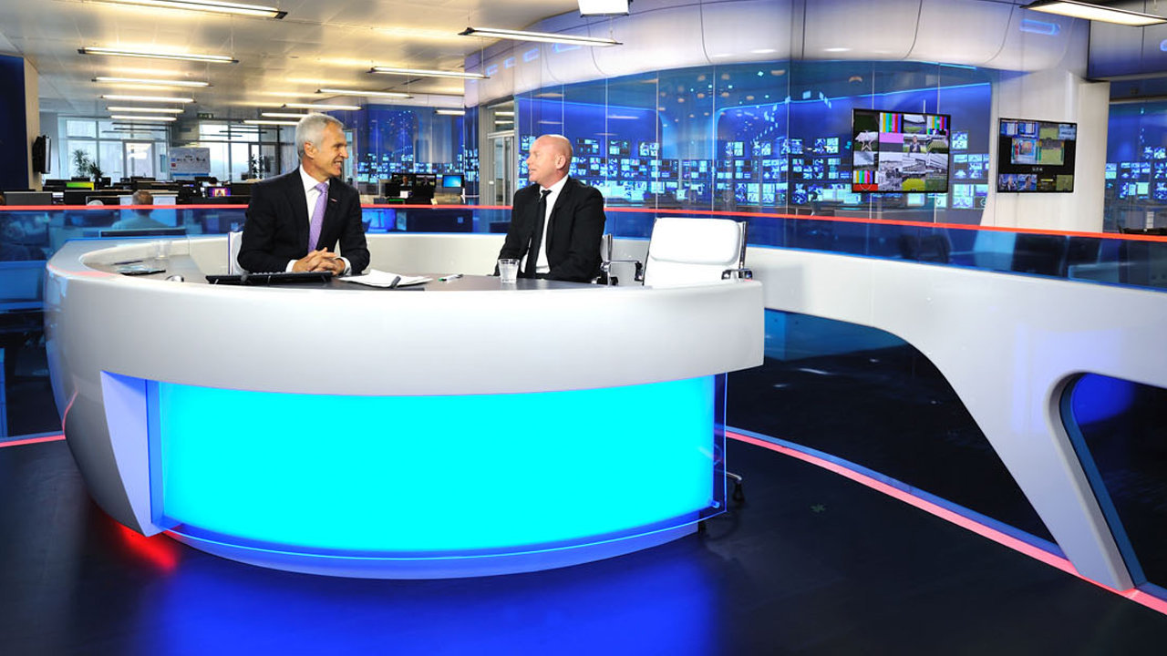 Sky Sports News Bulletin Studio