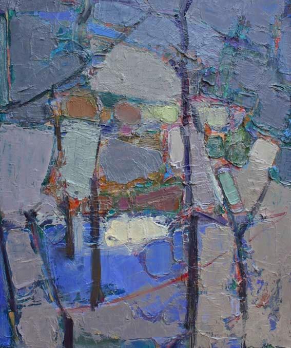 'Through the trees II'