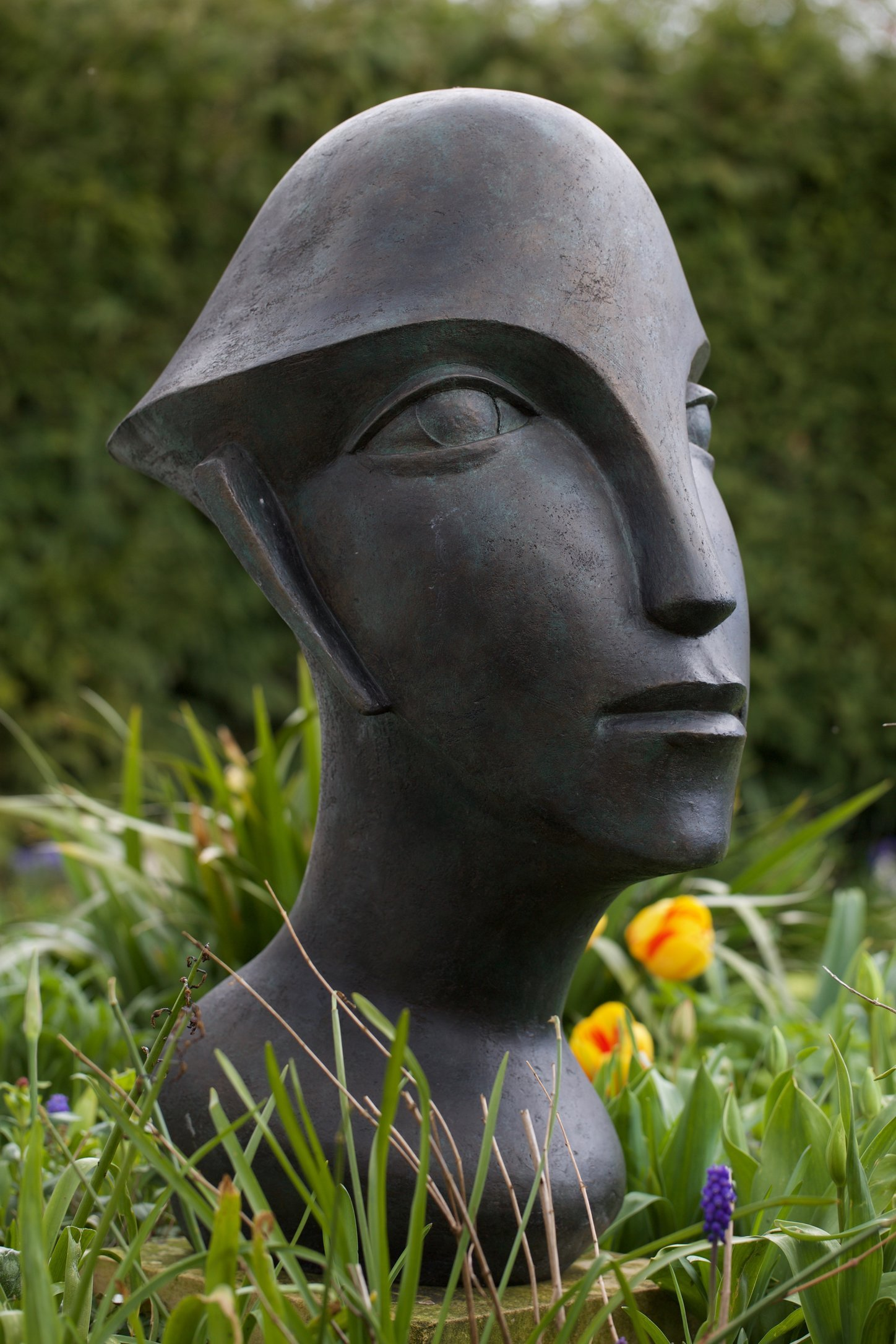 Racer Man 2 1998/ 2015  90 x 40 x 55cm  Bronze Resin   RP £3500   Oxfordshire Arts Weeks 2016 ( Open Studio)