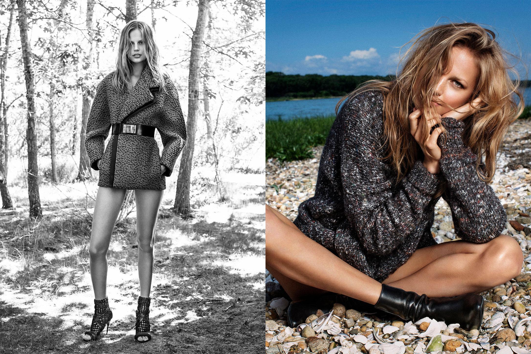 Vogue Spain. Elisabeth Erm. Juegos De Invierno. January, 2015.