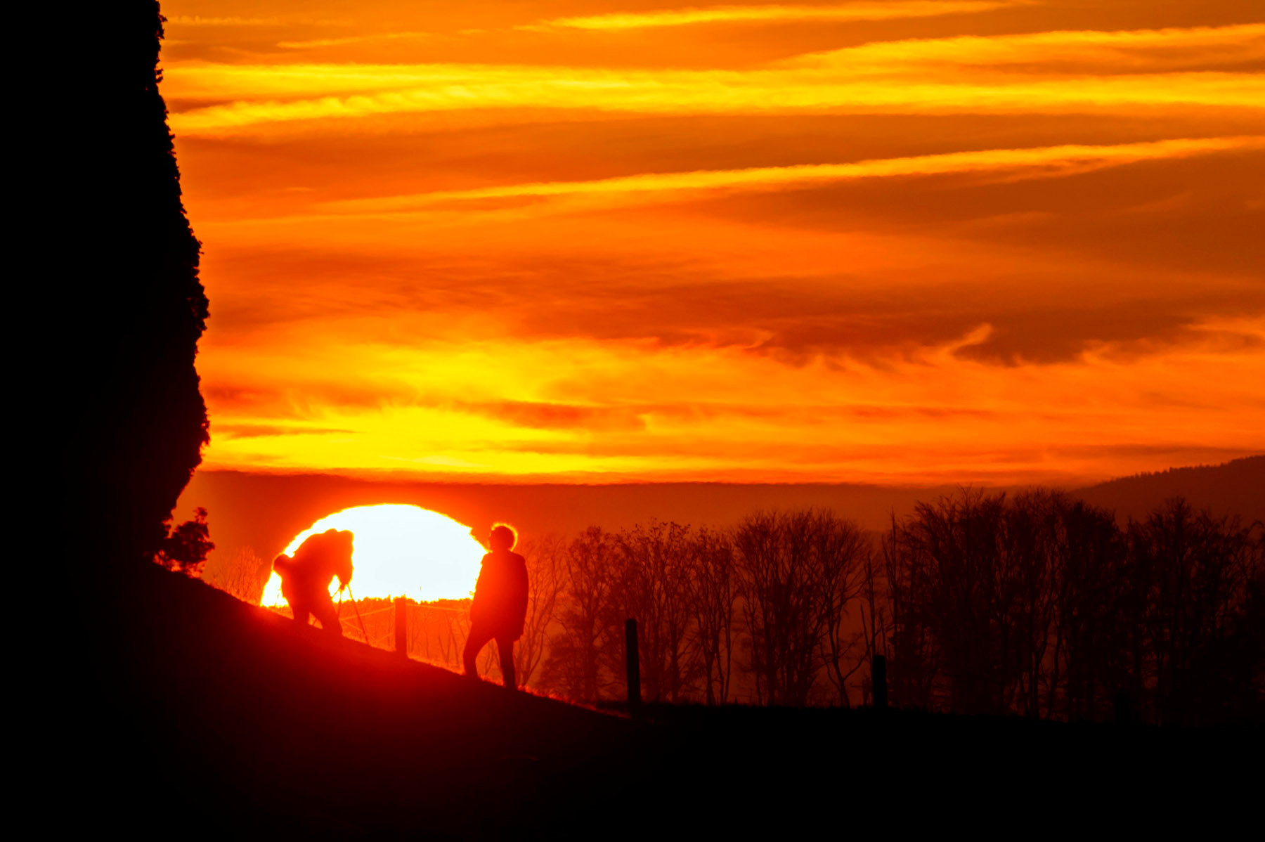Sunset - Daillens - 2013