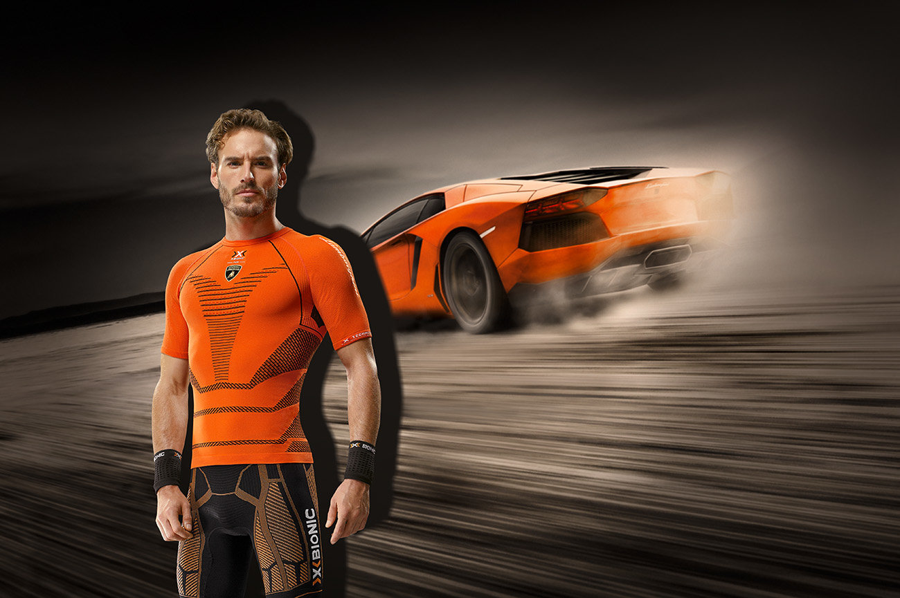 X-BIONIC® FOR AUTOMOBILI LAMBORGHINI