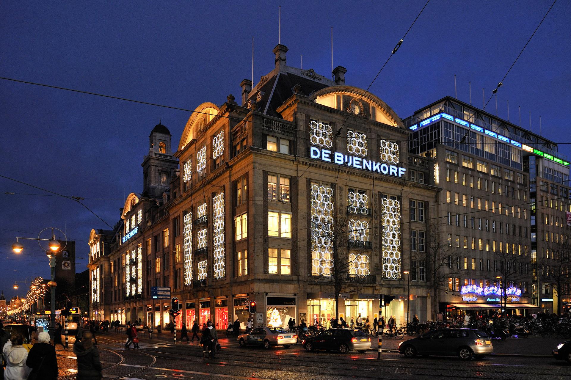 'De Bijenkorf' main store, Amsterdam (NL)
