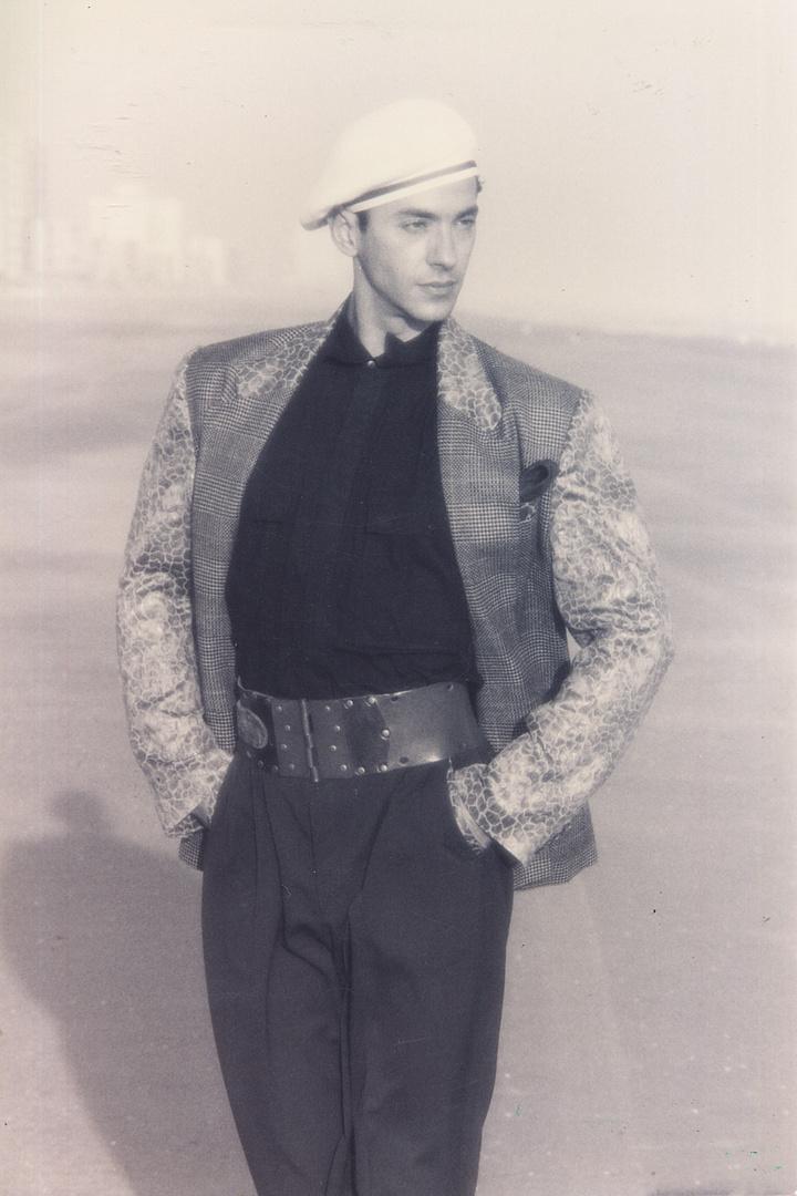 "MARTIN SNARIC- INTL SUPERMODEL POPSTAR OF THE RUNWAY.   Cover of ""Depeche Mode"""