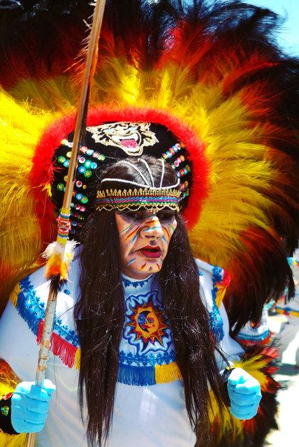 Masked Folklore Dancer I