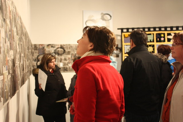 At the opening