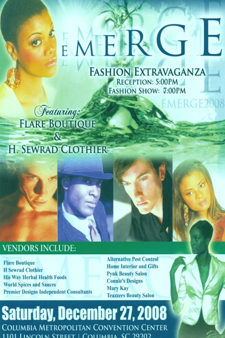 COLUMBIA METROPOLITAN CONVENTION  CENTER- IMAGE FASHION/MUSIC EXTRAVAGANZA