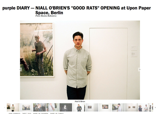 purple DIARY   NIALL O BRIEN S  GOOD RATS  OPENING at Upon Paper Space  Berlin.png