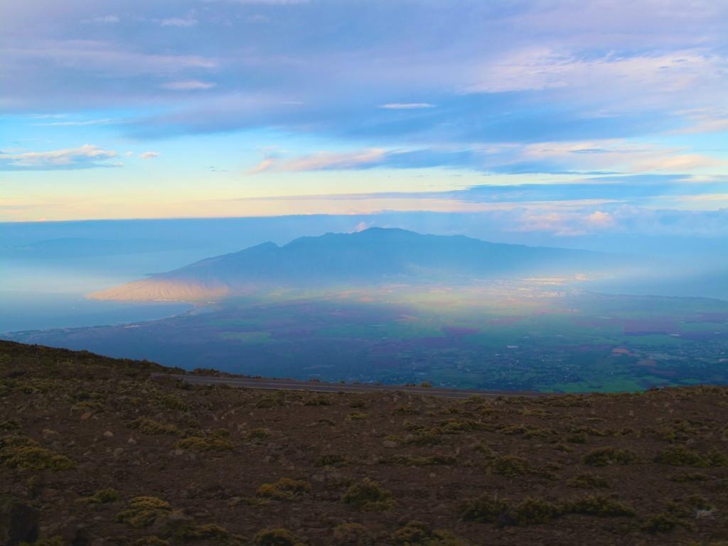 Sombra do Vulcão Haleakala