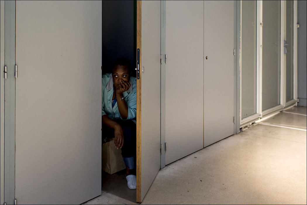 A Woman in a Cupboard