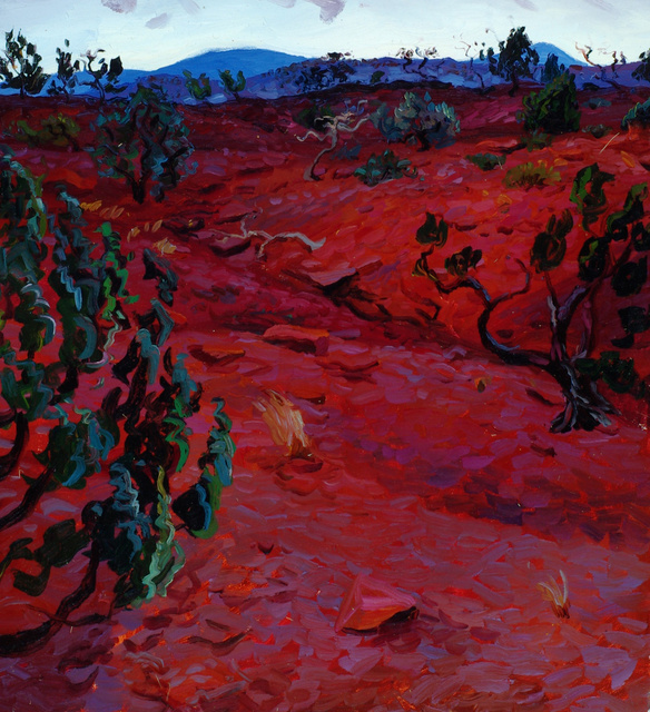 Red Earth, New Mexico, 30 x 28""