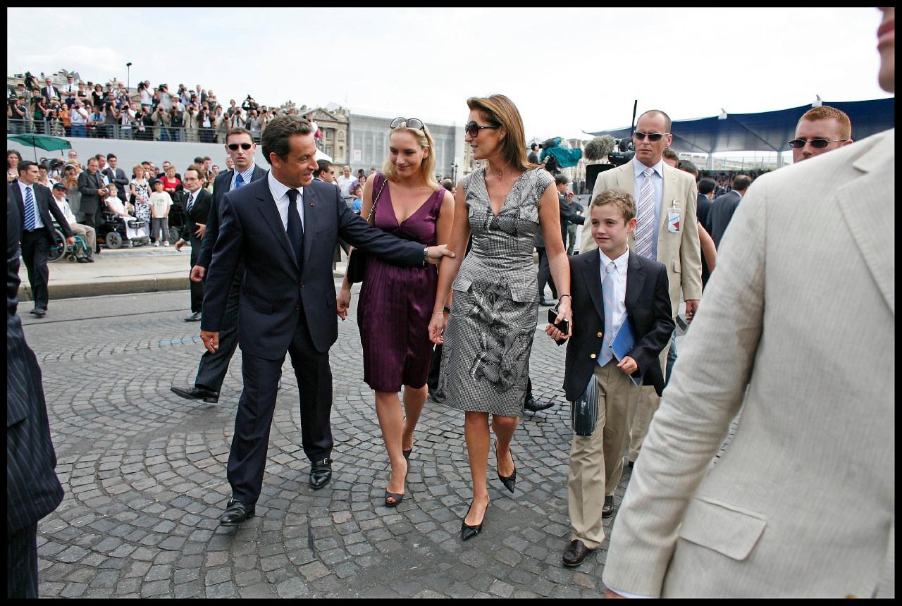 Nicolas Sarkozy et Cécilia Sarkozy