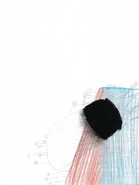 Zonder Titel, 2011  18,7 x 25,2 cm