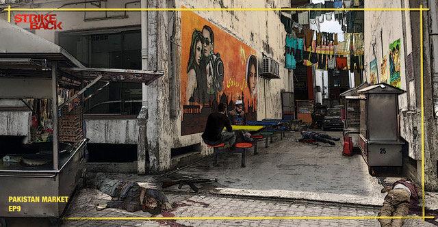 VISUAL - Pakistan Market Street