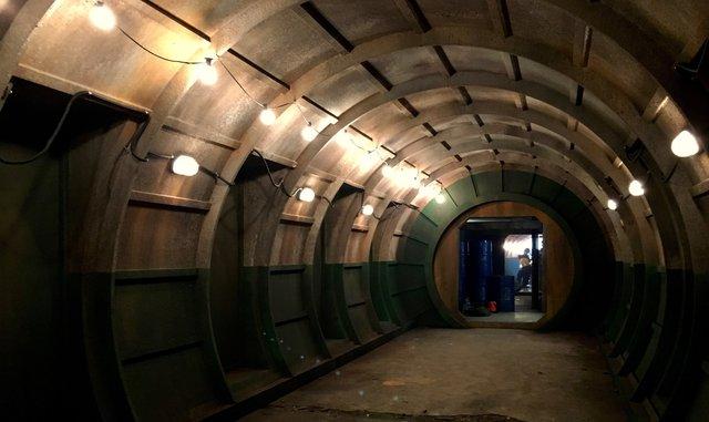 Ext Back Lot build set - Silo tunnel