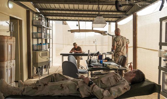 Dressed Set - Army Base Medic Area