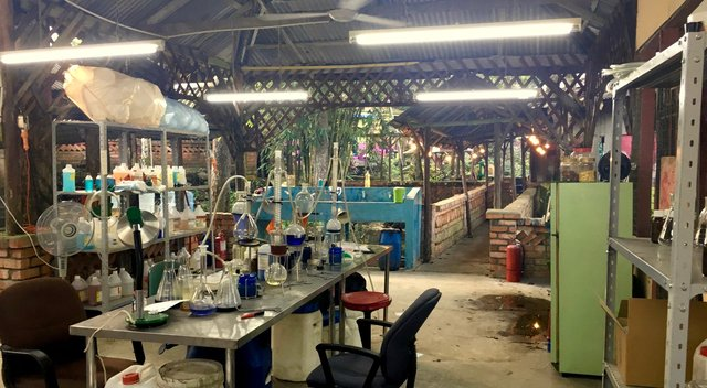 Location Build - Myanmar Chemical drug factory