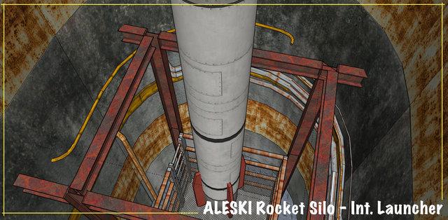 Rocket Silo - model for set build