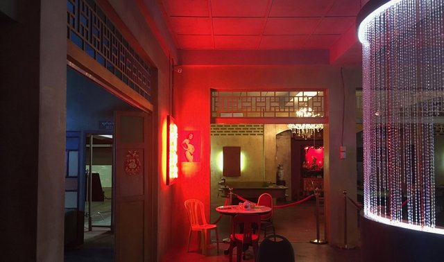 Studio Set Build - Myanmar Casino Interior