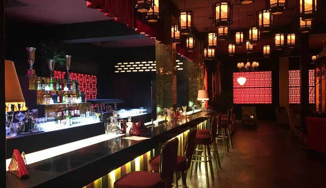 Int. Hong Kong Club - Studio Build set - Bar