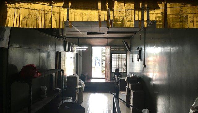 Indonesian back shop interior set