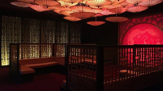 Int. Hong Kong Club - Studio Build set - VIP Area