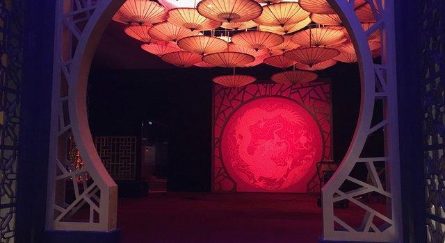 Int. Hong Kong Club - Studio Build set -VIP Area