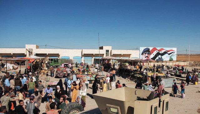 Dressed set - Baghdad Market