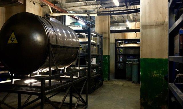 Location Build - Rocket Silo Int. - Chemical Storage Area
