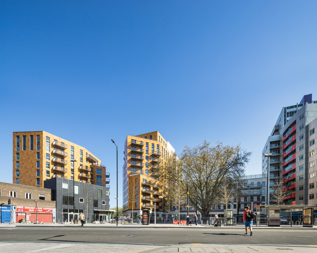 Rathbone Market, Canning Town. CZWG Architects