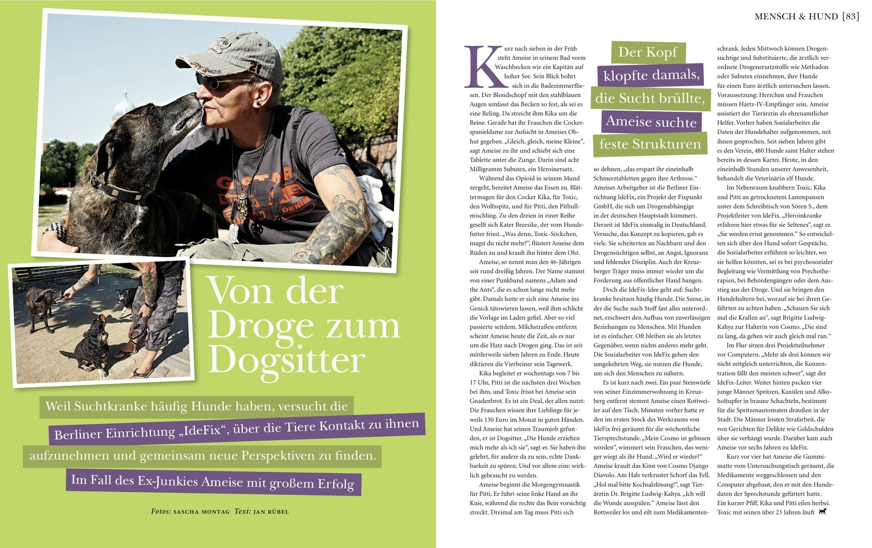 Dogs Magazin März/April 2010
