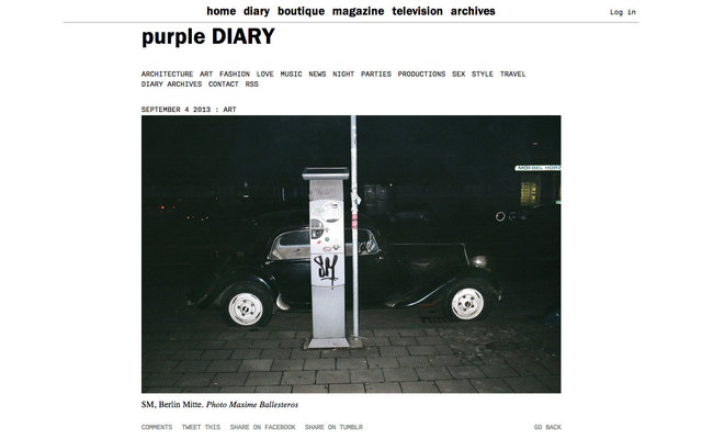 purple DIARY   SM  Berlin Mitte. Photo Maxime.jpg