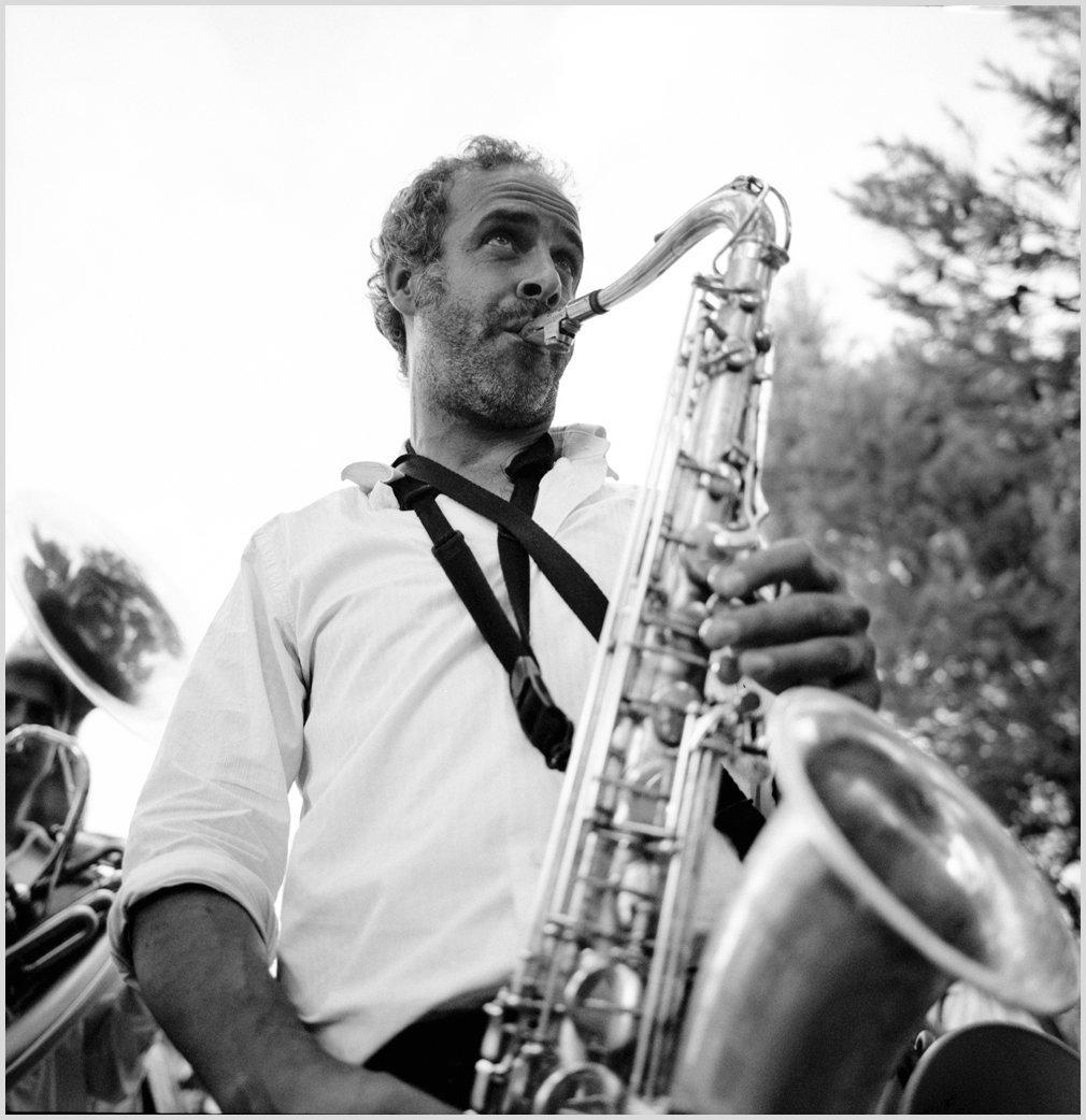 Natxo, Saxophonist