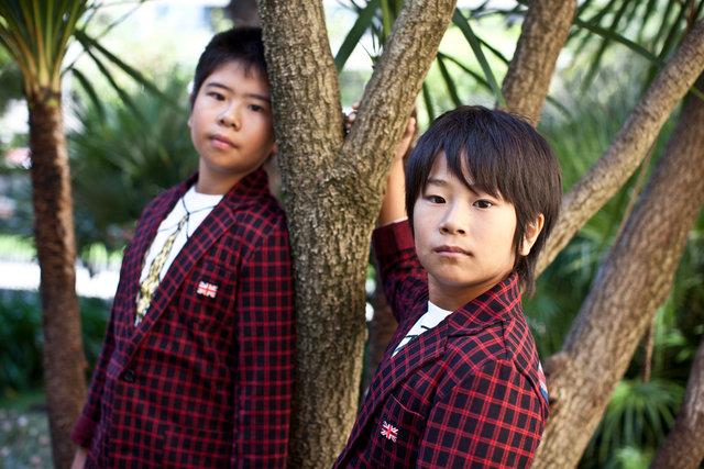 koki maeda and ohshirô maeda, actors