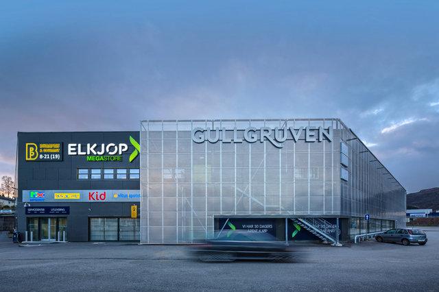 Gullgruven, Bergen
