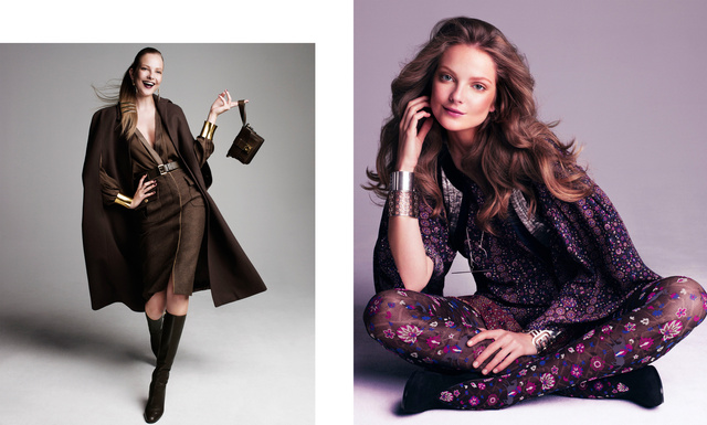 Harper's Bazaar. Eniko Mihalik. War and Peace, September 2012