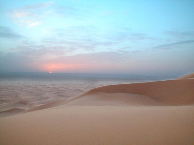 Sand at Dusk