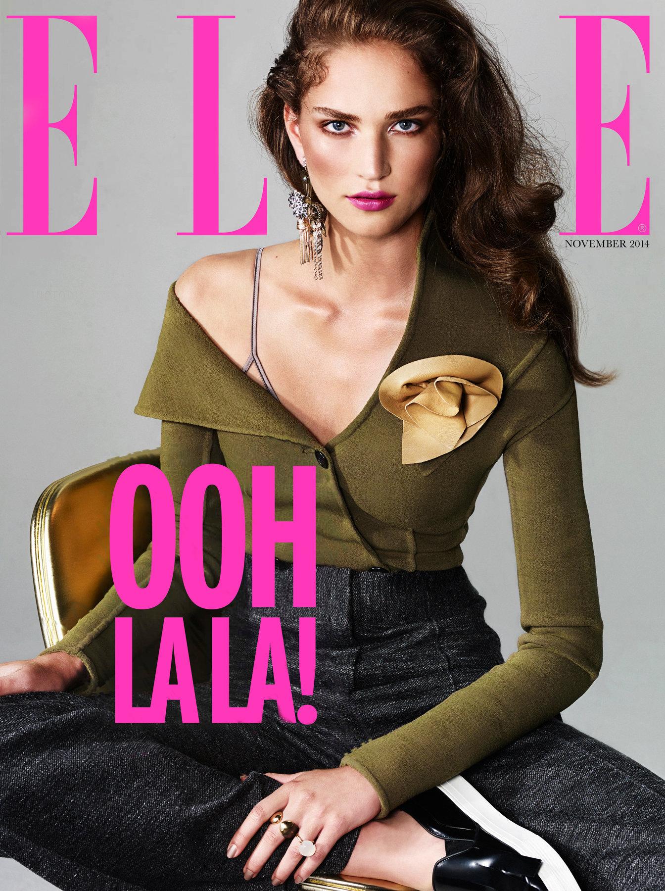 ELLE NL cover November 2014